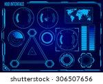 hud. sci fi futuristic user...