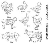 Meat Symbols  Pork  Beef  Lamb...