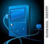 e book illustration for e... | Shutterstock .eps vector #3065599