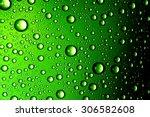 Water Drops Close Up. Abstract...
