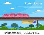 Monorail Train Sky Subway...