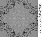 circular   pattern of delicate... | Shutterstock . vector #306607238