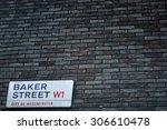 London  Uk   Aug 8  Brick Wall...