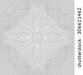 circular   pattern of delicate... | Shutterstock . vector #306611462