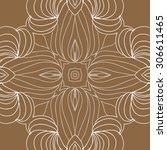 circular   pattern of delicate... | Shutterstock . vector #306611465