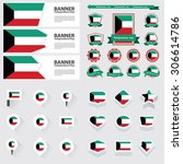 kuwait independence day ... | Shutterstock .eps vector #306614786