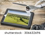 drone aerial photography... | Shutterstock . vector #306632696