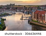 Whitby Marina In North Yorkshire