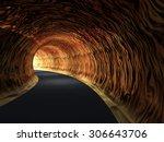 concept or conceptual dark... | Shutterstock . vector #306643706