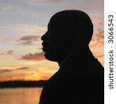 african american man standing... | Shutterstock . vector #3066543
