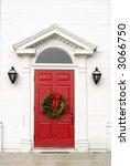 red church door   Shutterstock . vector #3066750