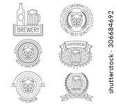 set of badges  labels  design... | Shutterstock .eps vector #306684692