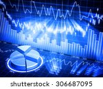 business chart   this is a... | Shutterstock . vector #306687095