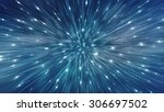 abstract blue background.... | Shutterstock . vector #306697502