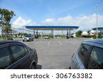 kalasin  16 august 2015  ptt... | Shutterstock . vector #306763382