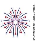 firework | Shutterstock .eps vector #306769886