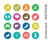 medical icons universal set for ... | Shutterstock . vector #306794438