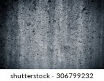 grungy and smooth bare concrete ... | Shutterstock . vector #306799232