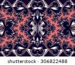 fabulous background. satin... | Shutterstock . vector #306822488