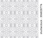 seamless vector ethnic pattern  ...   Shutterstock .eps vector #306828776