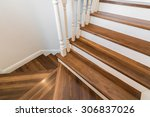 Wooden And Elegant Steps In...