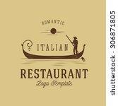 Italian Restaurant Abstract...