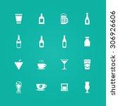 drinks icons universal set for... | Shutterstock . vector #306926606