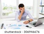 business  people  fail ... | Shutterstock . vector #306946676