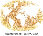 vector illustration of world... | Shutterstock .eps vector #30697732