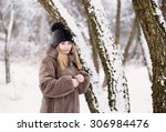 young busnessman isolated on... | Shutterstock . vector #306984476
