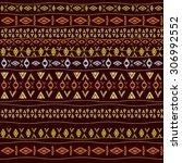 neck design in ethnic style for ... | Shutterstock .eps vector #306992552