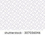 purple colored shapes on white...   Shutterstock .eps vector #307036046