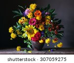 Bouquet From Cultivated Flower...