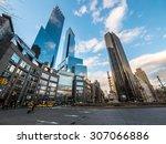 ny   manhattan  31 dec 2014 ... | Shutterstock . vector #307066886