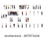 achievement idea business... | Shutterstock . vector #307071626