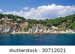 landscape view from sea near... | Shutterstock . vector #30712021
