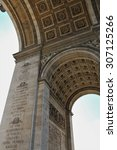 triumphal arch of the star ...   Shutterstock . vector #307125266