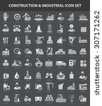 construction and industry icon... | Shutterstock .eps vector #307171262