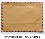 Old Envelope  Brown Color