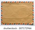 Old Envelope  Brown Color