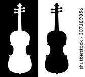 violin vector icon | Shutterstock .eps vector #307189856