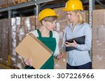 women found out about a problem ... | Shutterstock . vector #307226966