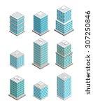 a vector illustration of modern ... | Shutterstock .eps vector #307250846