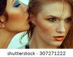 luxurious weekend.concept....   Shutterstock . vector #307271222