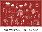 Indian Tribal Painting. Warli...