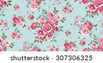Seamless Classic Floral Patter...
