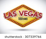 casino game design  vector... | Shutterstock .eps vector #307339766