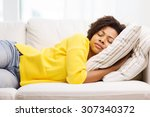 people  rest  comfort and... | Shutterstock . vector #307340372