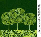 tree | Shutterstock .eps vector #30735328