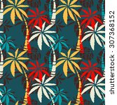 seamless pattern with colorful... | Shutterstock . vector #307368152